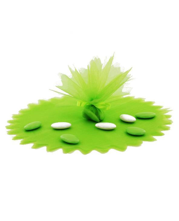 Tulle cristal vert