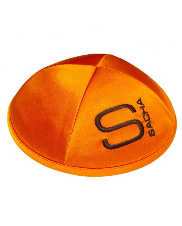 Kippa Satin Orange