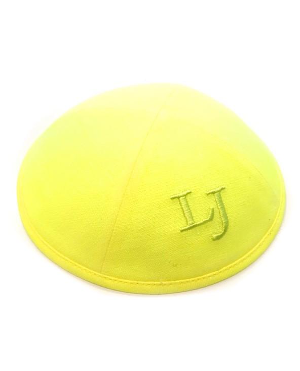 Kippa Lin fluo jaune