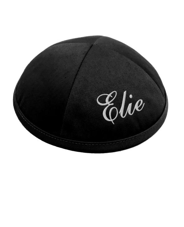 Kippa coton noir 1er prix