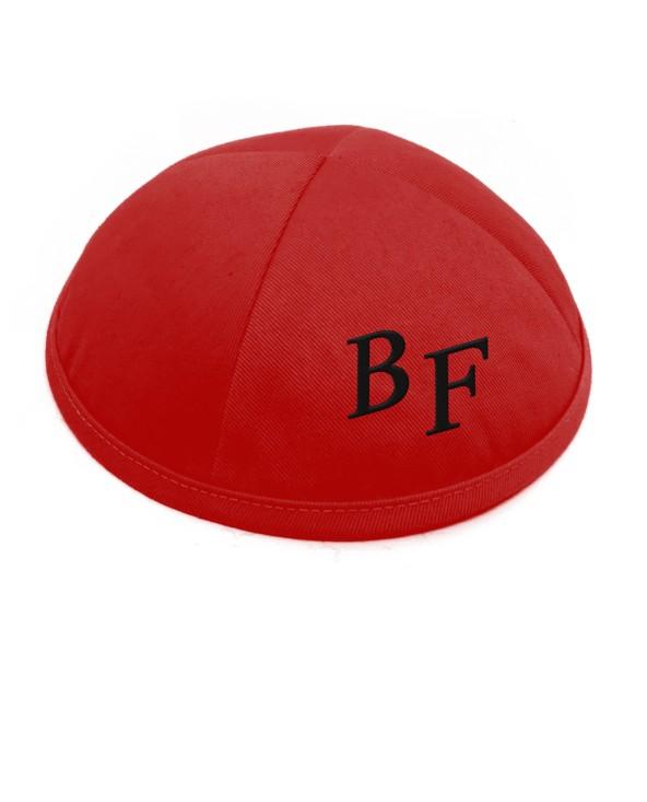 Kippa coton rouge 1er prix
