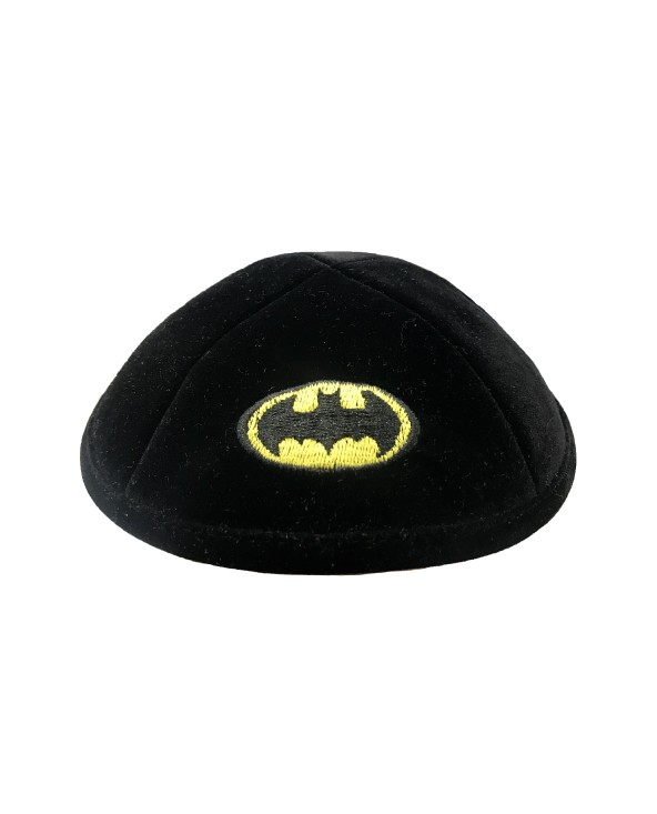 Kippa Velour Batman BRIT MILA
